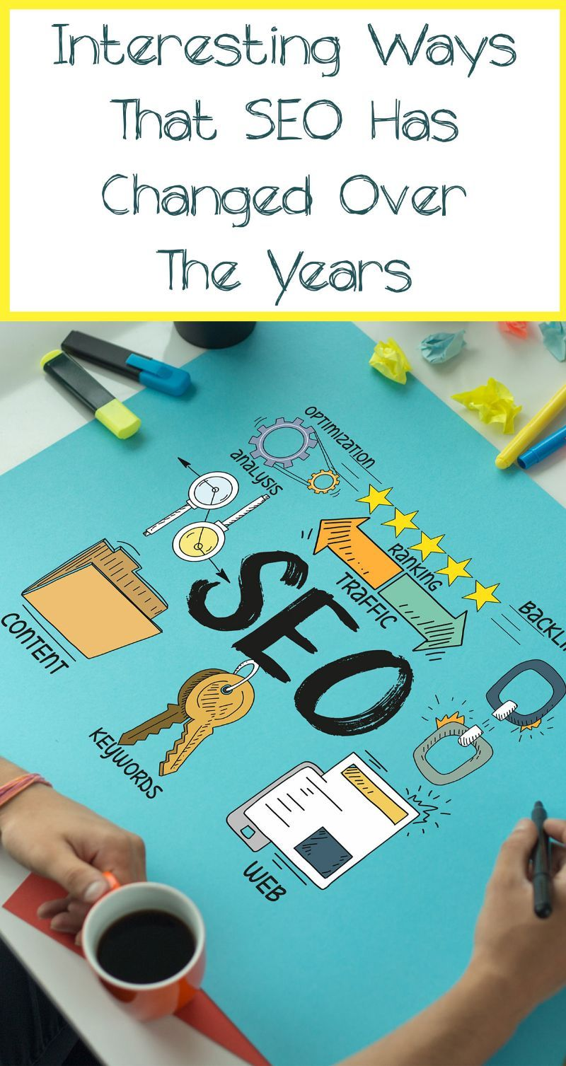 Interesting Ways That SEO Has Changed Over the Years Pin