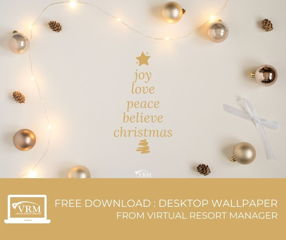 December VRM Monthly Marketing Planner and Free Desktop Wallpaper Calendars Quote