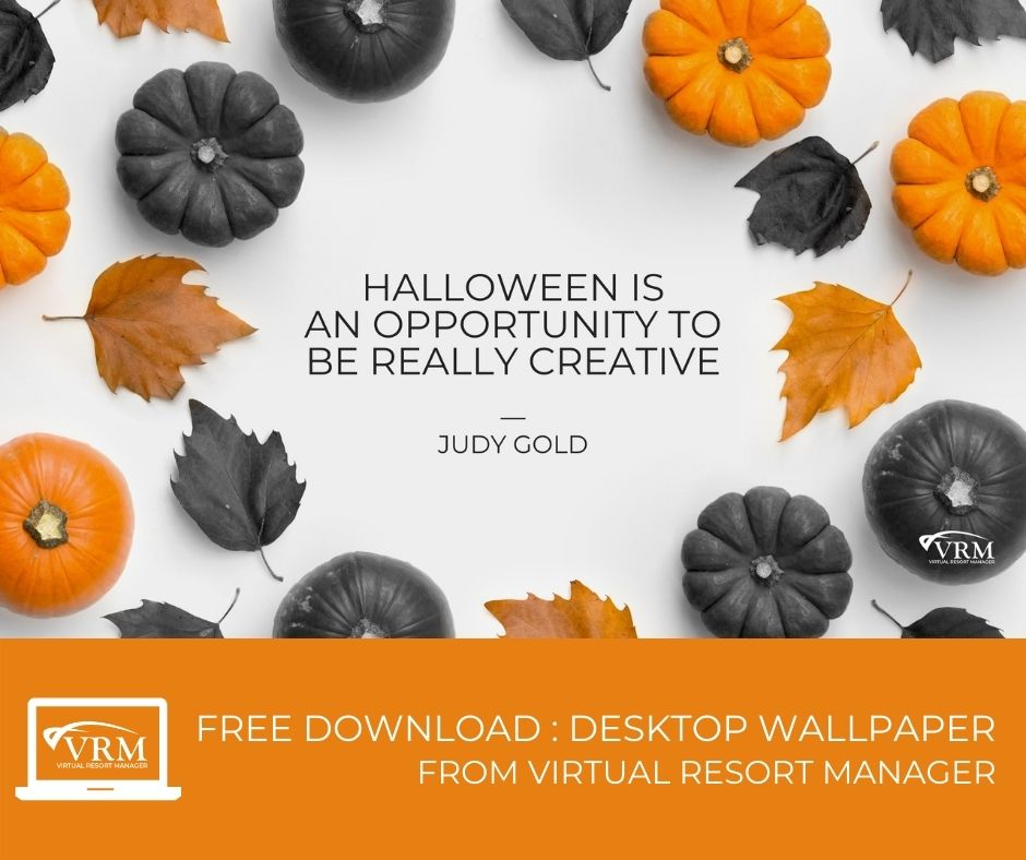 October VRM Monthly Marketing Planner and Free Desktop Wallpaper Calendars