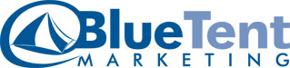 Blue Tent Marketing Logo