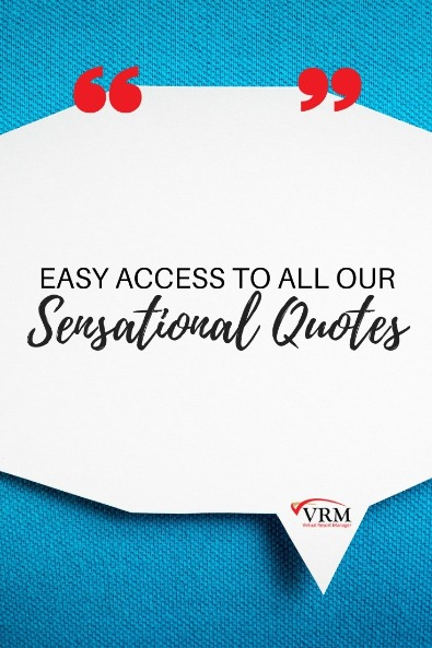 Easy Access to All Our Sensational Quotes | Virtual Resort Manager