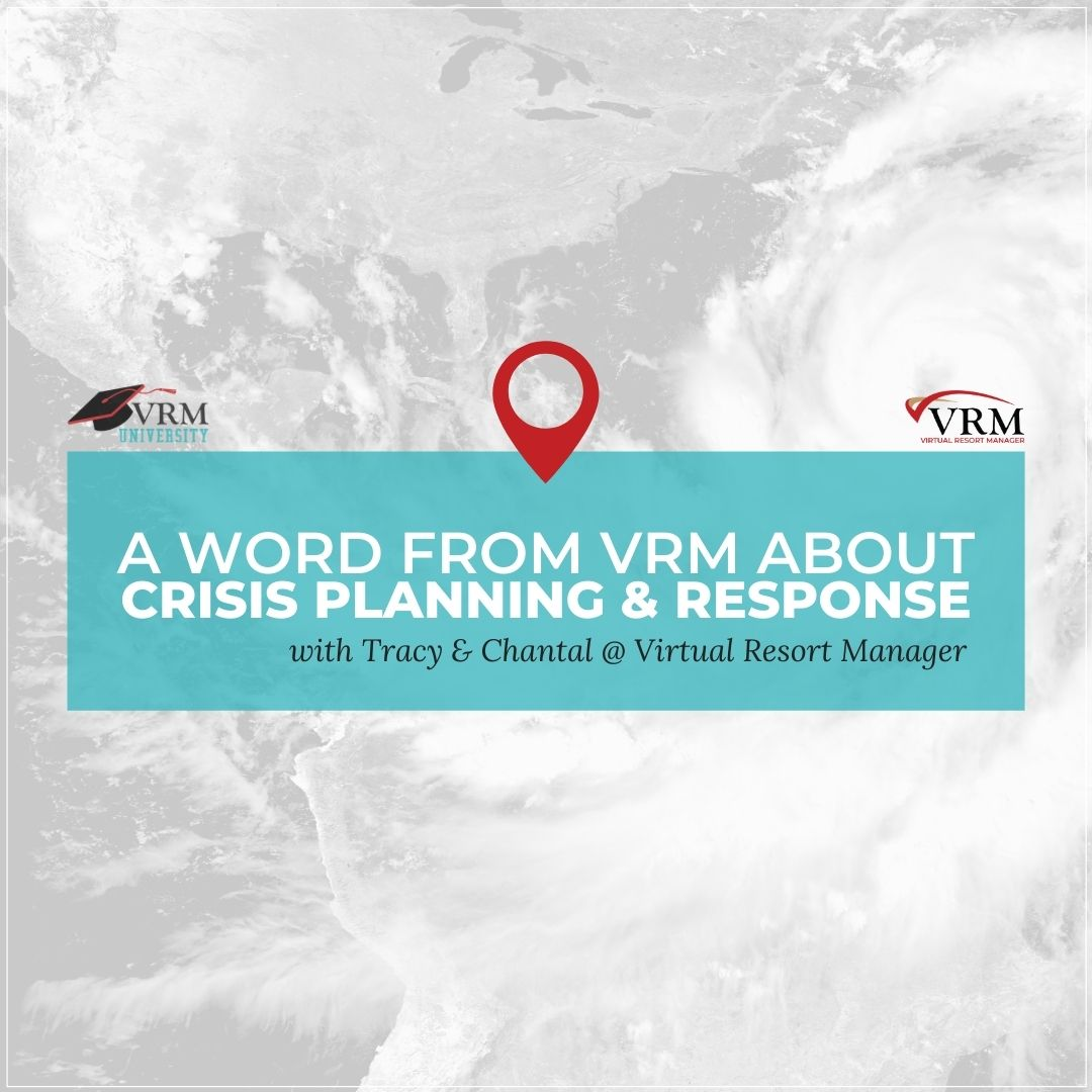 Word from VRM About Crisis Planning and Response with Tracy & Chantal