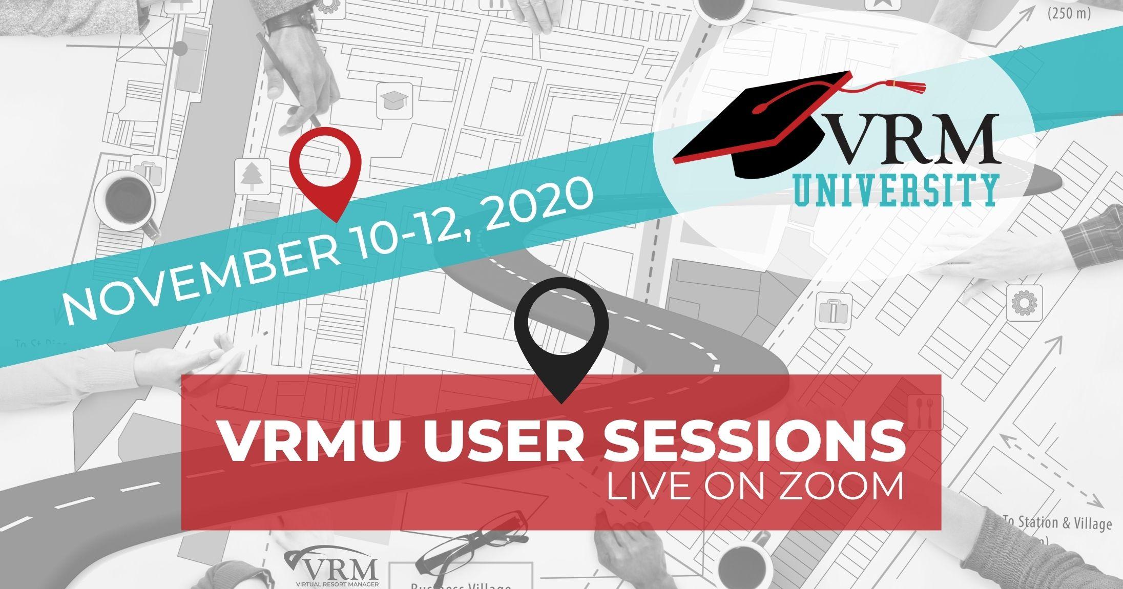 VRMU User Session 2020